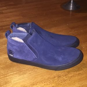 Uggs slip on sneakers size 10 men's blue New